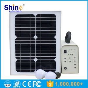 Hotting Selling Mini Solar Power System Home with Lead-Acid Batteries pictures & photos