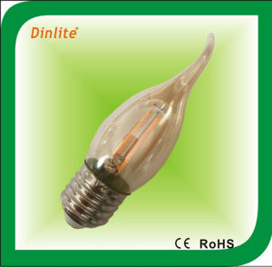 CA35 2W LED filament bulb with CE pictures & photos