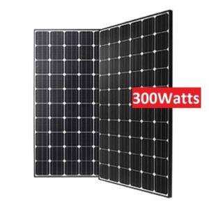 High Effeciency 156mm Mono 72 Cells 300 Watt Monocrystalline Solar Panels pictures & photos