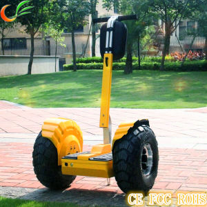 Security Use 2 Wheel Stand up Electric Scooter pictures & photos