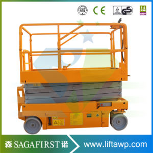8m 10m 12m Hydraulic Electric Manlift Aerial Platform pictures & photos