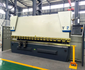 Wc67k-100t/3200 Sheet Metal Bending Press Machine for Sale