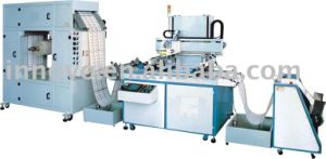 Roll Loading Material Screen Printing Machine pictures & photos