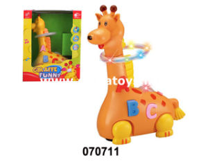 Electrecal Plastic Toys Battery Operated Giraffe (070711) pictures & photos