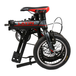 14 Inch Single Speed Aluminum Alloy Folding Bike pictures & photos