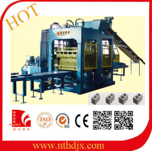 Automatic Hollow Concrete Block Brick Making Machine (QT10-15) pictures & photos