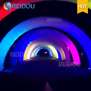 Custom Lighted LED Start Finishing Line Infatable Archway Advertising Arches pictures & photos