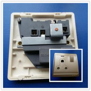 15A Screwless Switch Socket with Champagne Finish