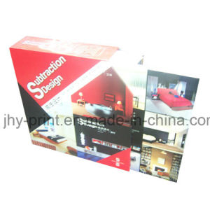 Hardcover Book with a Draw Box Printing Service (JHY-001)