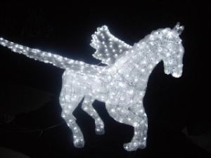 Lovely Musical LED Motif Light Outdoor Stree Decoration pictures & photos