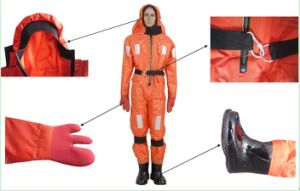 Cheap Offshore Hot Sale Heat-Insulation Immersion Suit pictures & photos
