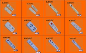 4 Holes Power Strip with Ground with Switch (E8004ES) pictures & photos