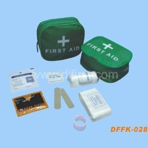 Travel First Aid Kit for Basic Treatment (DFFK-028) pictures & photos