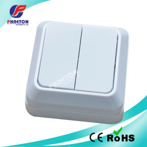 10A 250V European Surface Wall Switch pictures & photos