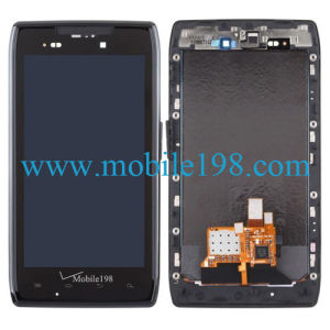 LCD Screen and Digitizer with Frame for Motorola Droid Razr Xt912 pictures & photos