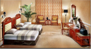 Seven Stacked Elegant Wooden Hotel Furniture pictures & photos