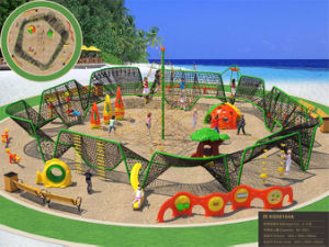 Kaiqi Large Climbing Adventure Set for Children Playground (KQ50104A) pictures & photos