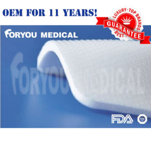 2016 Top Premium Foryou Surgical FDA 510k Antibacterial Silver Silicon Foam Dressing for Wound Care pictures & photos