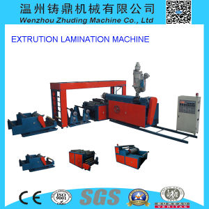 Zd Non Woven Fabric Laminating Machine Best Quality pictures & photos
