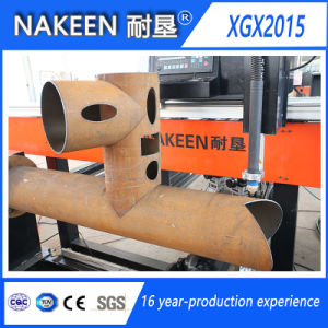 CNC Plasma Ssteel Pipe Cutting Machine pictures & photos