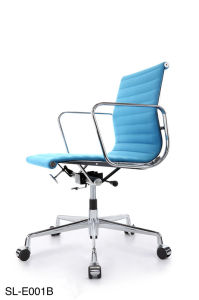 Eames Aluminium Furniture Hotel Leather Swivel Office Chair (E001BF) pictures & photos