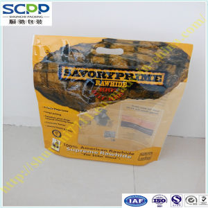 Stand-up Zip Lock Pet Food Plastic Packaging Bag pictures & photos