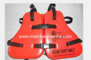 PVC Light Weight Oil Rig Work Life Jacket Vest pictures & photos
