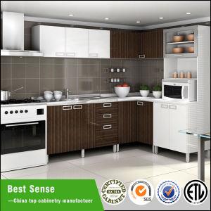 European Style Melamine Kitchen Cabinet Unit pictures & photos
