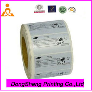 Customized Paper Adhesive Sticker with New Design