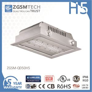 IP66 Waterproof 50 Watt LED Gas Station Light High Brightness pictures & photos