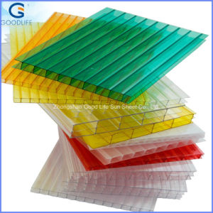 100% Bayer Virgin Material 4/6/8/10/12 mm Polycarbonate Hollow Sheet pictures & photos