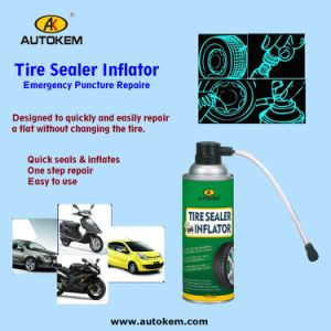 Tire Repair Sealer and Inflator, Quick Repair Sealer and Inflator for Vehicle Tires pictures & photos