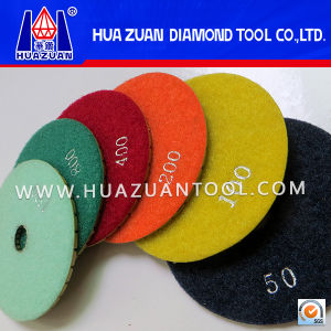 100-180mm Granite Marble Polishing Pads for Sale pictures & photos