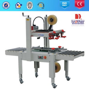 Semi Automatic Carton Sealing Machine with Side Sealing Model pictures & photos