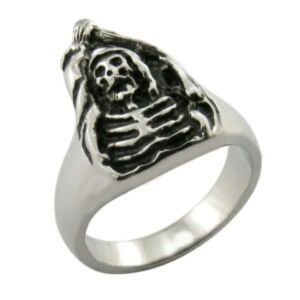 Jewelry Chic New Retro Classical Skull Ring pictures & photos