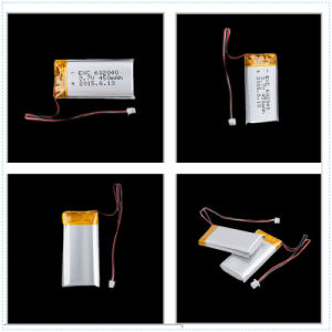 Lipo 3.7V 210mAh Rechargeable Battery 501730 with Protection Board for MP3, Bluetooth pictures & photos