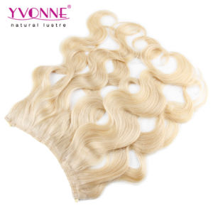 Color #613 Body Wave Flip in Human Hair Extension pictures & photos