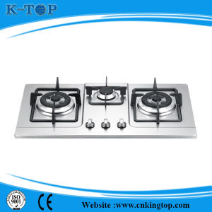 Stainless Steel 3burner Built-in Gas Stove pictures & photos
