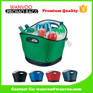 Promotional Polyester Tote Cooler Bag for 6 Beer Bottle pictures & photos