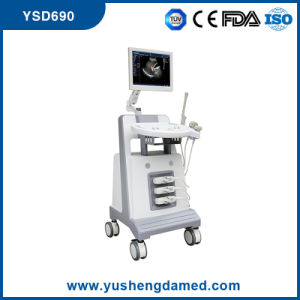 CE Approved 3D/4D Trolley Color Doppler Ultrasound System Ysd690 pictures & photos