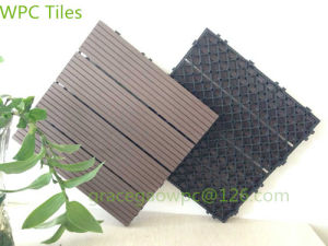 WPC Interlocking Floating Outdoor DIY Flooring for Condo Balconies pictures & photos