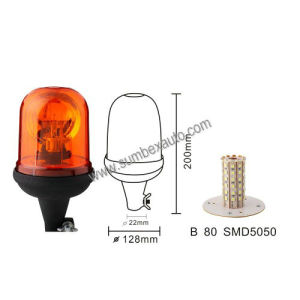 ECE R10 Flexible Base Vehicle Strobe Beacon Warning Light (SM803DB)
