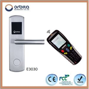 Orbita M1/IC/RFID Card Hotel Lock System E3030 pictures & photos