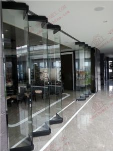 Ans Glass Bi-Folding Entry Door (BHA-DBF14) pictures & photos