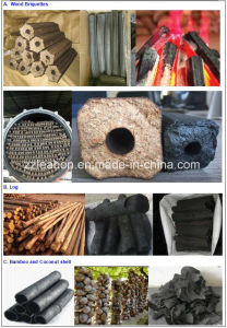 7000-8000 Kg/Day Charcoal Briquette Making Line for BBQ Used pictures & photos