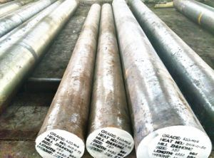 Peeled Alloy Steel Round Bars 4140, Forged Steel Solid Bars Sold From Chinese Manufacturer pictures & photos