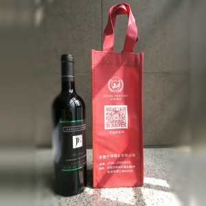 Non-Woven Bags of Red Wine pictures & photos