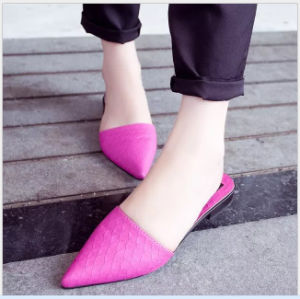 Fashion and Beauty Ladies Sandals Summer Slippers pictures & photos