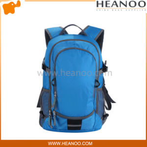 Custom Blue Sports Travel Camping Hiking Laptop Book Bags Backpacks pictures & photos