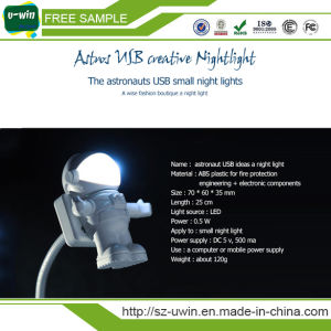 Free Sample Flexible USB LED Light Spaceman USB Light pictures & photos
